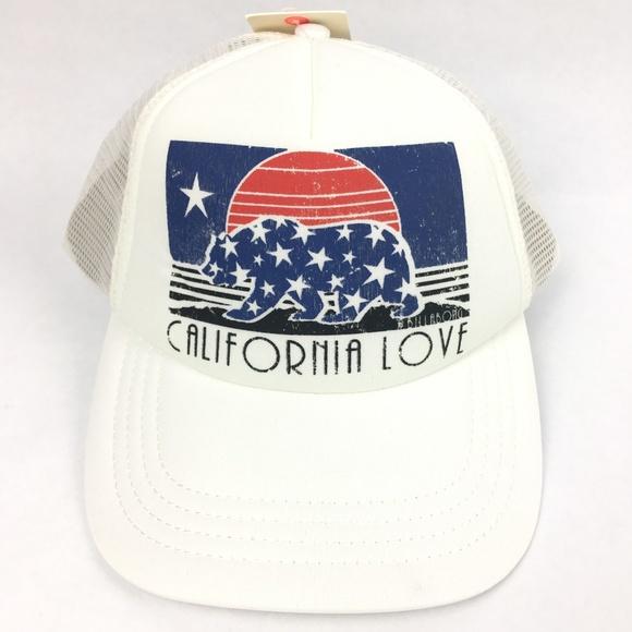 Billabong Across Waves California Love Trucker Hat 226f6f6a54e1